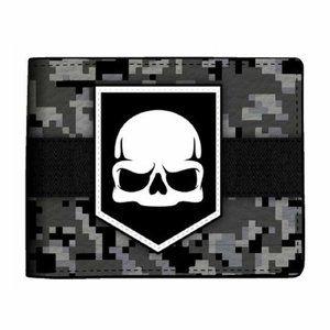 Bioworld Call of Duty Ghost Skull Digi Camo Bi-Fol